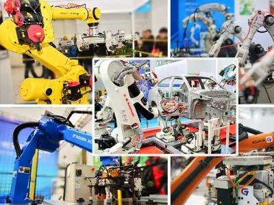 Micro-chain robot vision 丨 15th China Tianjin International Equipment Manufacturing Industry Expo