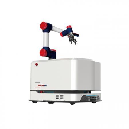 WEROBOTICS-AMR1+微链3D视觉引导-移动机器臂增强版