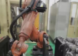 微链科技3D视觉引导解决方案——汽车零部件自动上下料